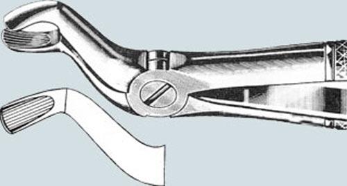 Щипцы для удаления зубов мудрости на верхней челюсти
