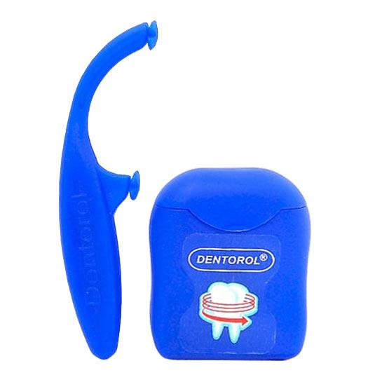 Зубная нить Dentorol в комплекте с держателем