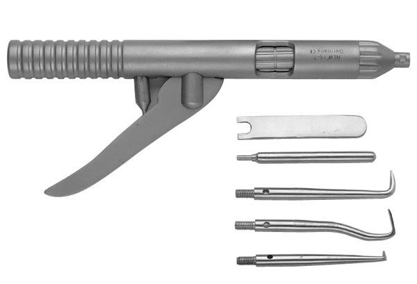 Коронкосниматель ручной - как снимают коронку с зубов