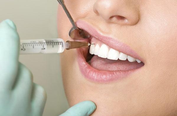 Обезболивание перед обточкой зубов фото